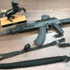 AK overview with black straps